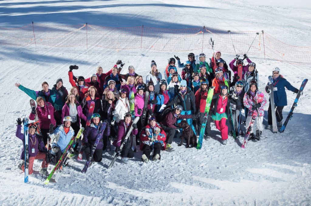 The K2 Women's Weekend at Pajarito was a huge success! Photo courtesy of Jeff Hylok Photography.
