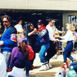 Here's an old school Beer and Band photo! For our full list of Beer and Band and other events, visit our website's event calendar: https://skipajarito.com/calendar.php