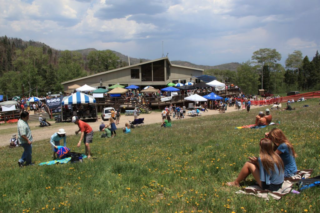 Pajarito offers events throughout the summer that include live music, beer gardens and more. Photo by Leslie Bucklin.
