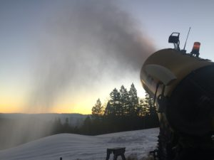 beginners hill snowmaking 11-12